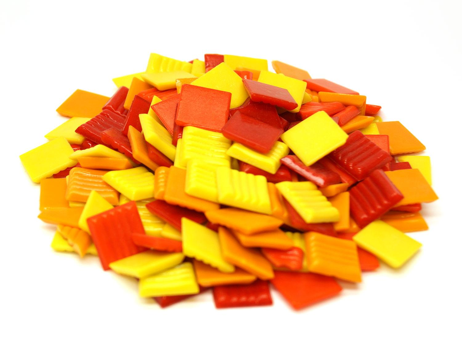 3/4 Fire Tile Mix - 1 Lb