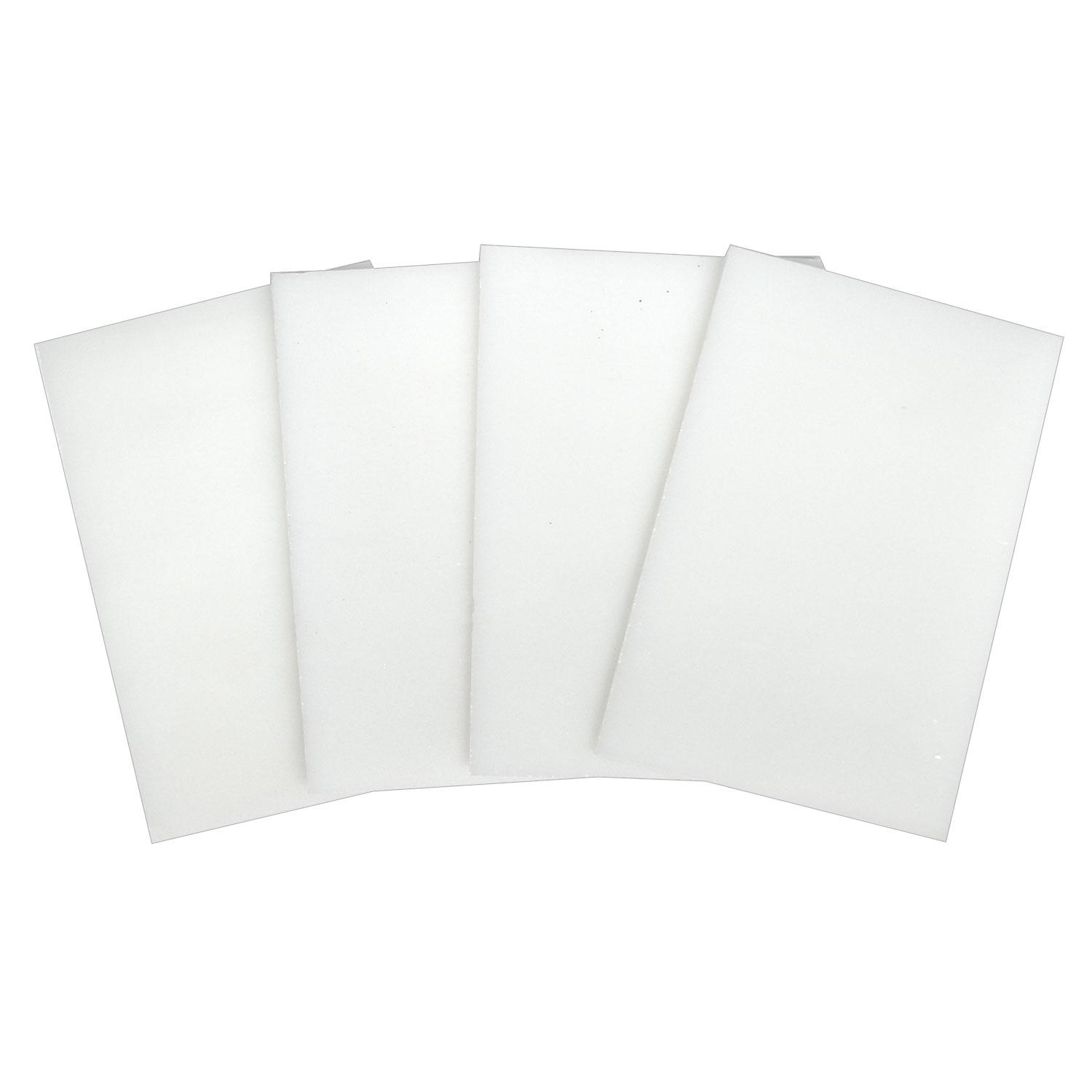 Fuseworks White Opalescent Glass Pack - 90 COE