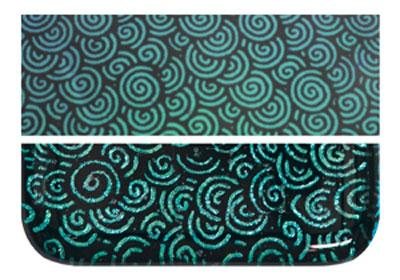 Fuseworks Dichroic Green Spiral - 90 COE