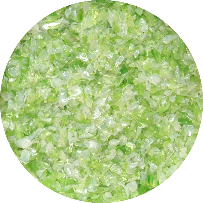 8.5 oz Fern Green / White Opal Dual Tone Medium Frit - 96 COE