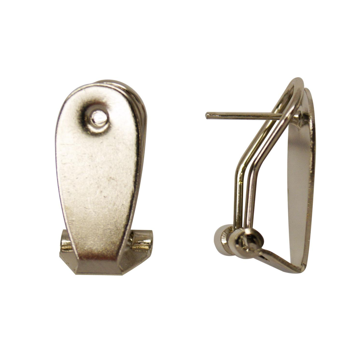 Earring Post with Flat Pad - 6 Pair