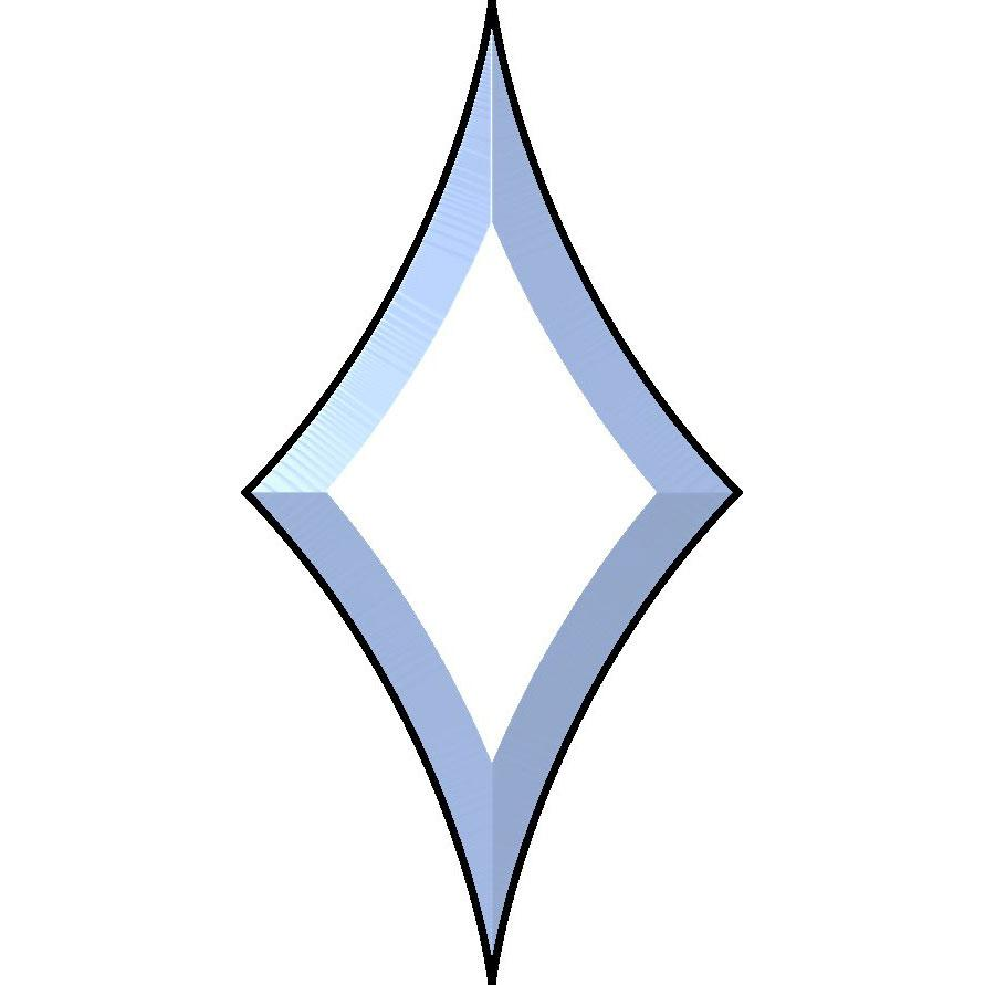 4-1/2 x 9 Star Bevel
