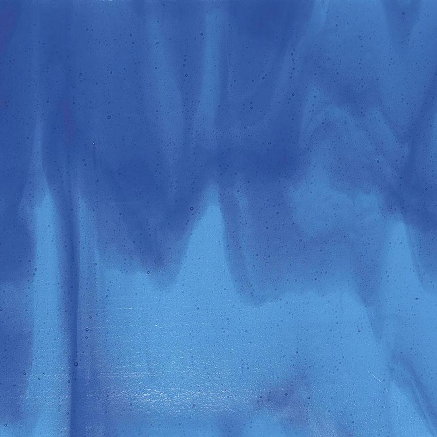 Bullseye Turquoise Blue, Deep Royal Blue Streaky - 90 COE
