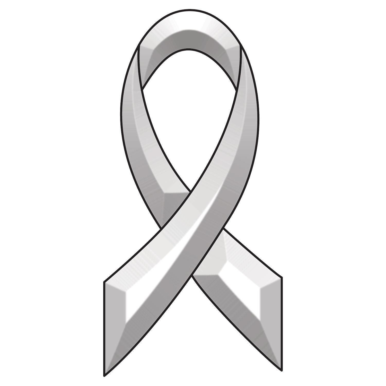 Awareness Ribbon Bevel Cluster