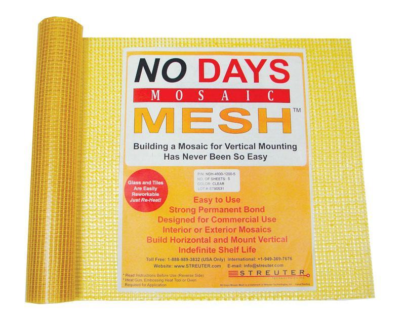No Days Mosaic Mesh - 5 sheets