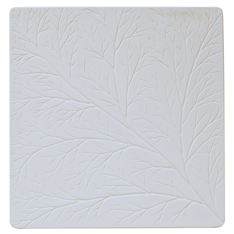 Net Leaf Vein Texture Tile Mold