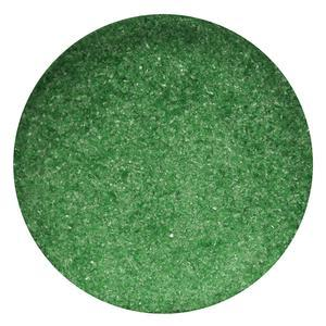 4 lb Aventurine Green Transparent Fine Frit - 96 COE