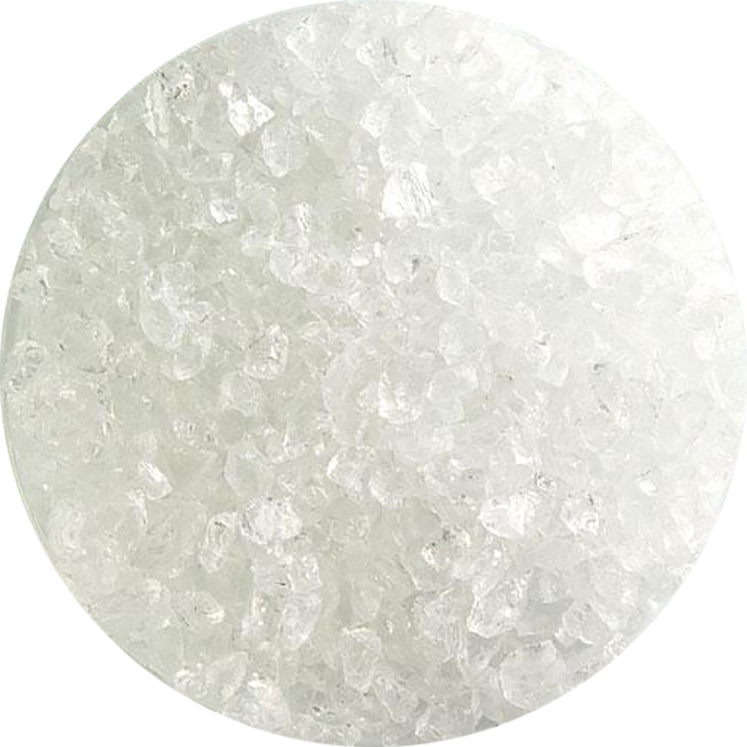 5 Oz Clear Transparent Coarse Frit - 90 COE