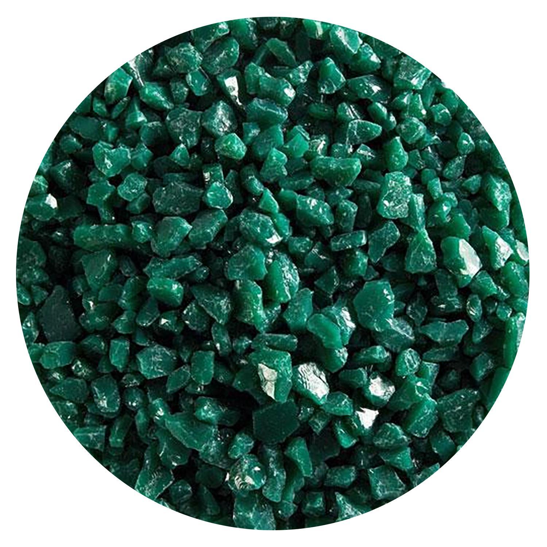 5 Oz Jade Green Opal Coarse Frit - 90 COE