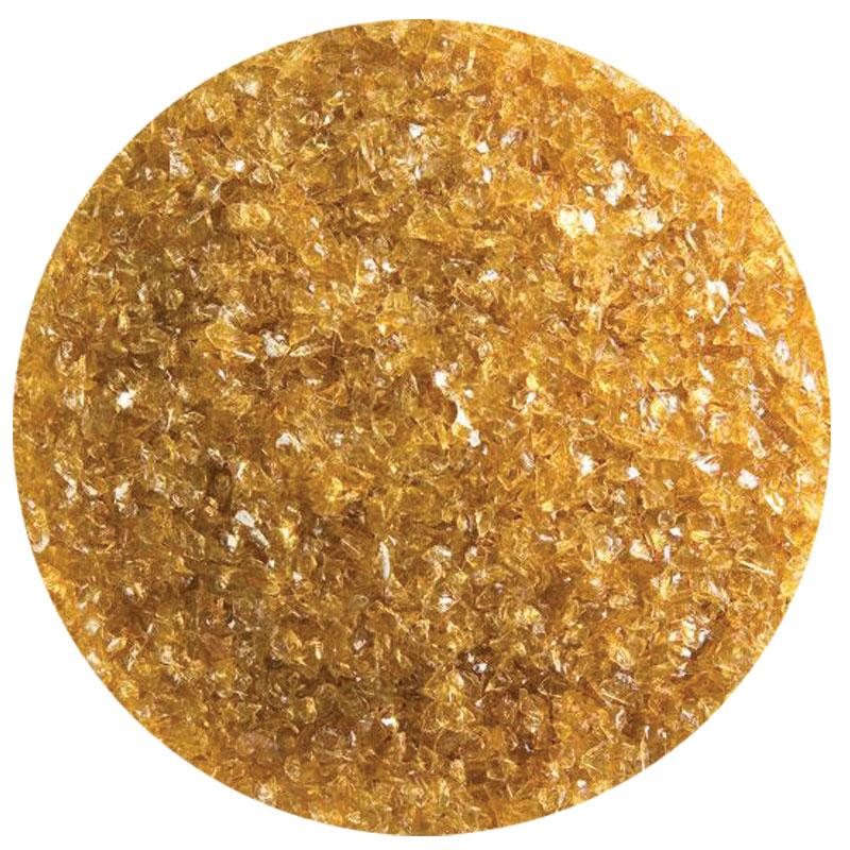 5 Oz Medium Amber Transparent Medium Frit - 90 COE