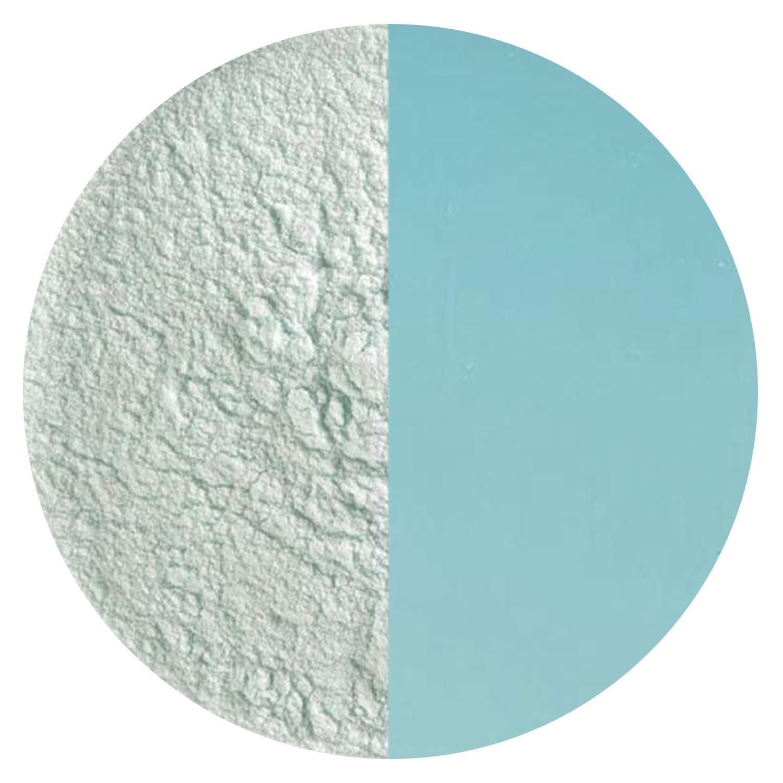 4oz Made From Bullseye Glass Aqua Blue Tint Transparent Powder Frit 90COE