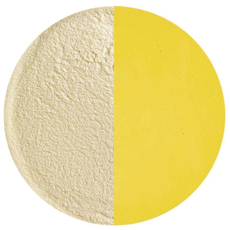 5 Oz Medium Amber Transparent Powder Frit - 90 COE