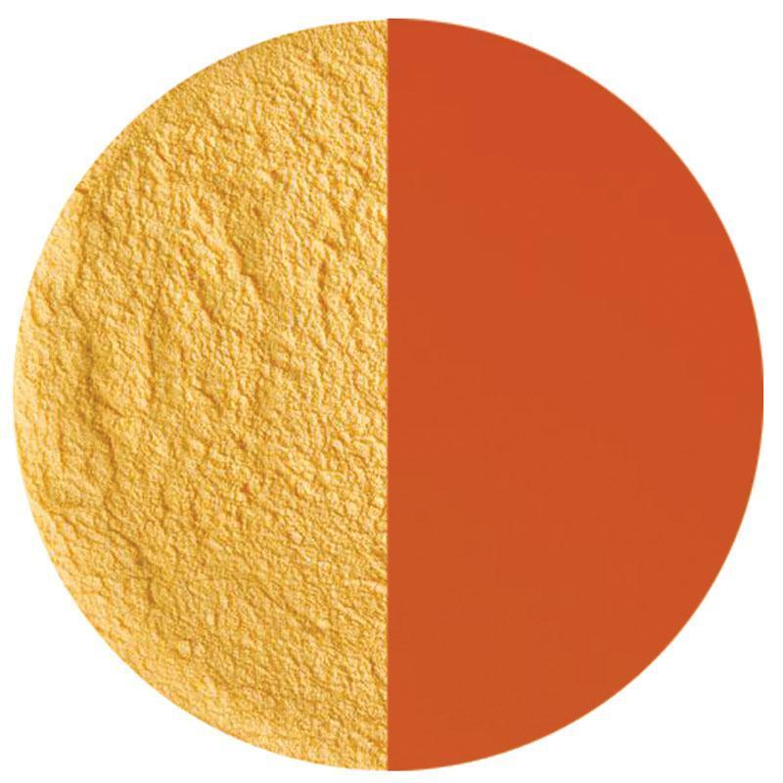 5 Oz Orange Opal Striker Powder Frit - 90 COE