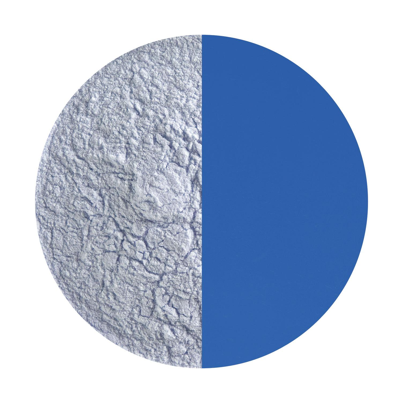 5 Oz Deep Cobalt Blue Opal Powder Frit - 90 COE