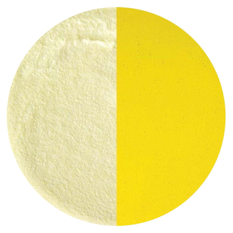 5 Oz Canary Yellow Transparent Striker Powder Frit - 90 COE