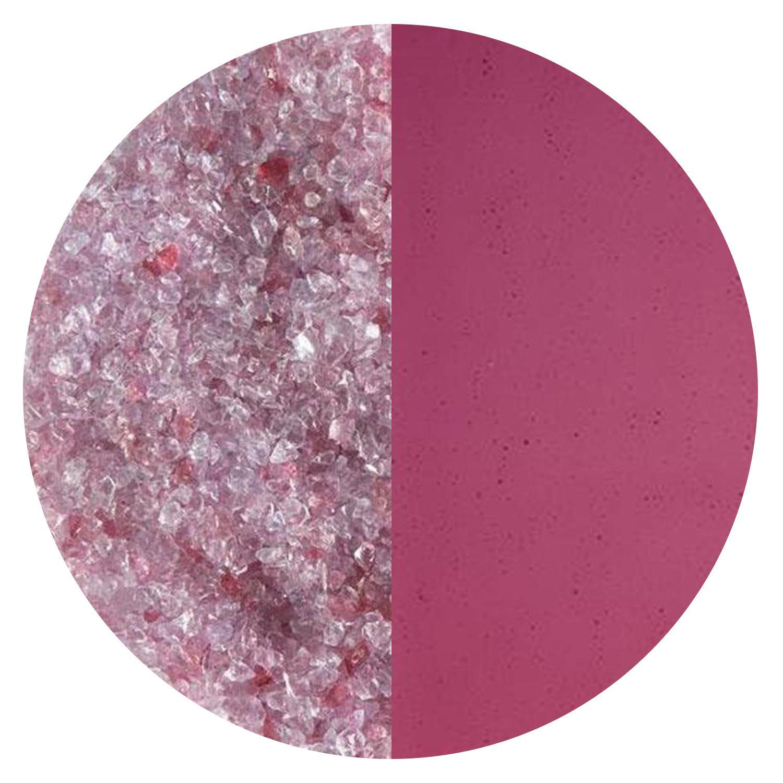 5 Oz Cranberry Pink Transparent Striker Medium Frit - 90 COE