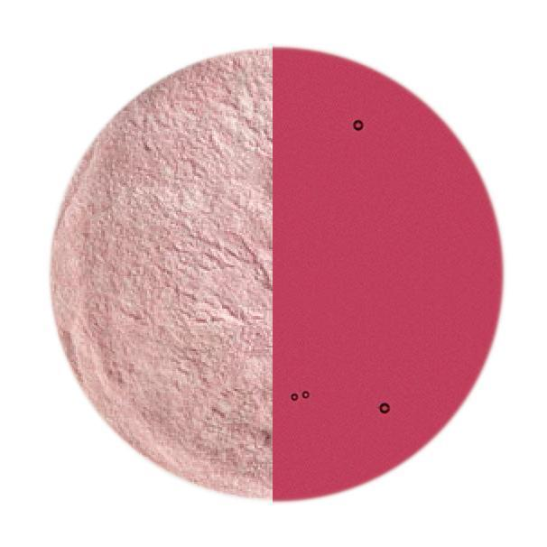 5 oz Cranberry Pink Transparent Powder Frit - 90 COE