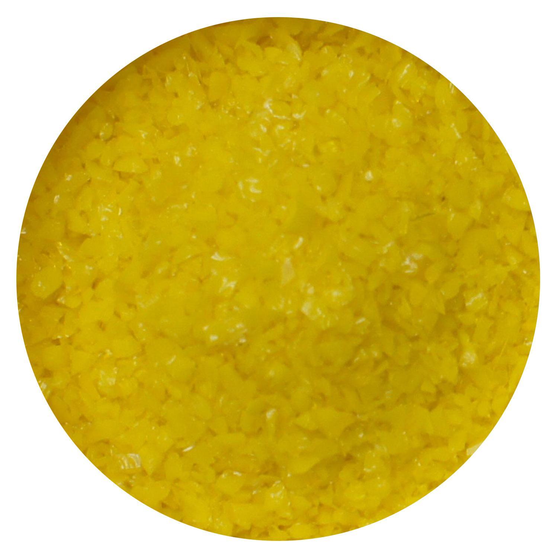 8.5 Oz Sunflower Yellow Opal Medium Frit - 96 COE