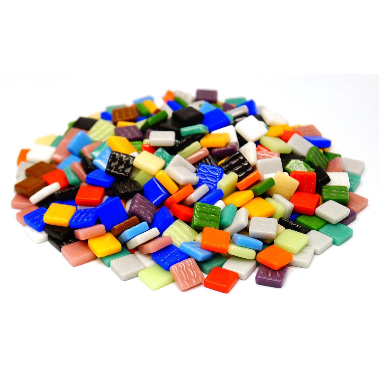 3/8 Classico Glass Tile Mix - 1 lb