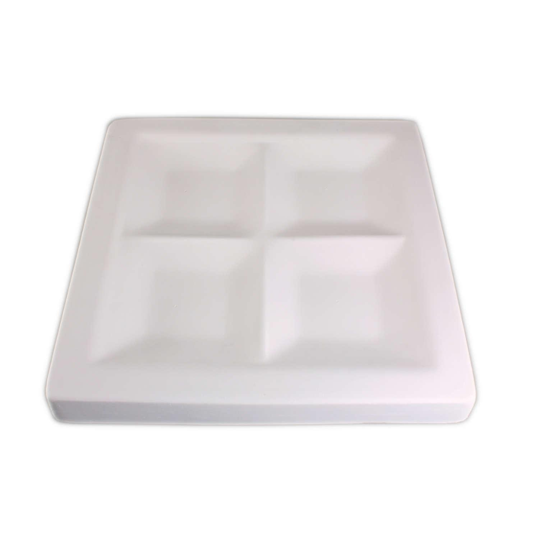 7-1/2 x 7-1/2 Quadrant Appetizer Mold