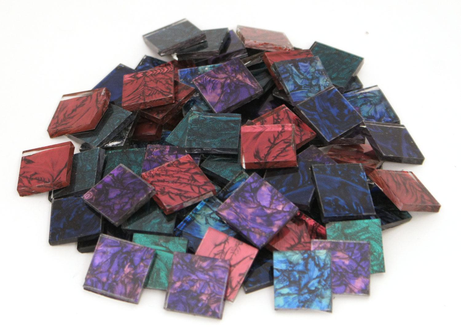 3/4 Van Gogh Solid And Multi-Color Chips Mix - 80 Pieces