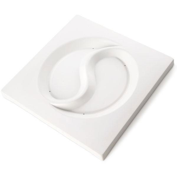 11-3/4 x 11-3/4 Yin-Yang Plate Slumping Mold
