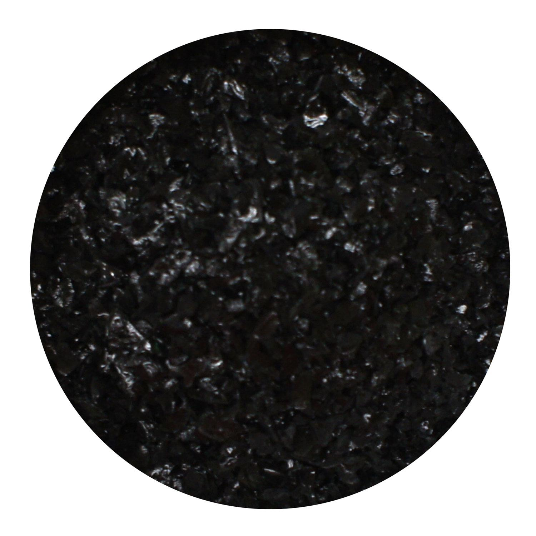 8.5 Oz Aventurine Black Opal Medium Frit- 96 COE