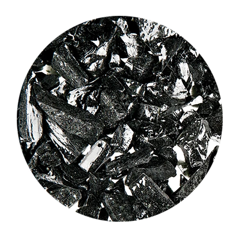 8.5 Oz Aventurine Black Opal Coarse Frit - 96 COE