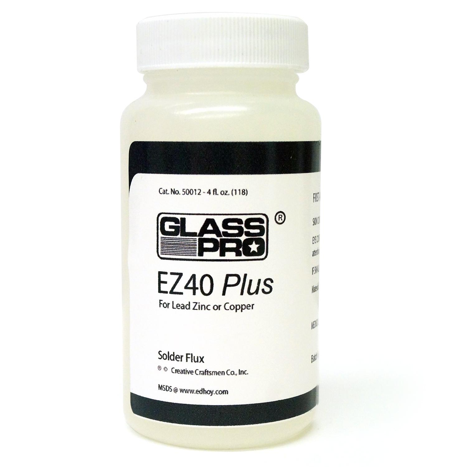 Glasspro EZ 40 Plus Solder Flux - 4 oz