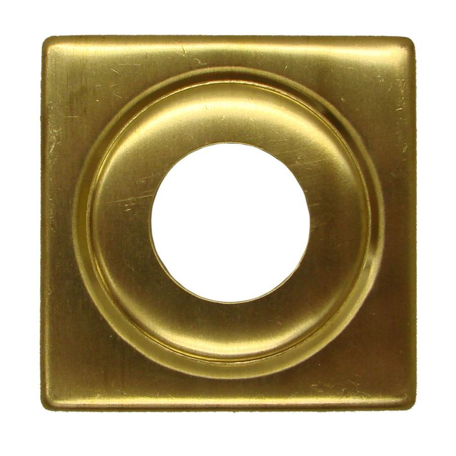 2-3/4 Square Brass Cap