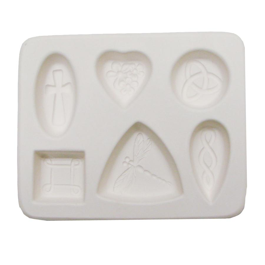 Relief Design Cabochon Mold