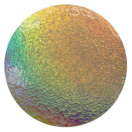Rainbow Clear Streamer Bits On Clear - 90 COE