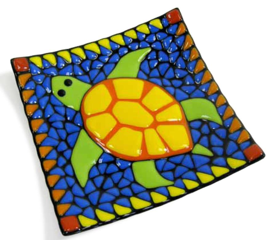 Free Sea Turtle Dish Project Guide