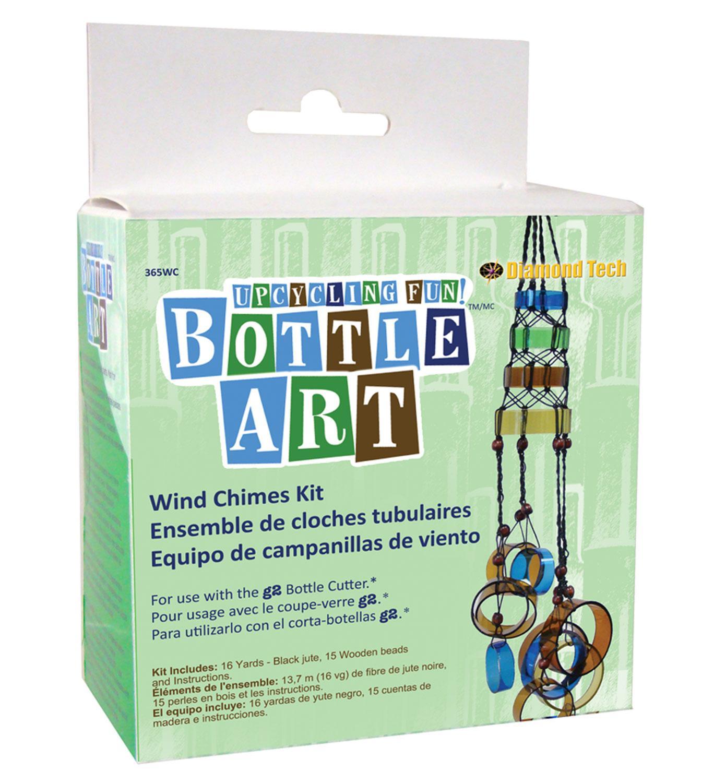 Wind Chimes Bottle Art Kit
