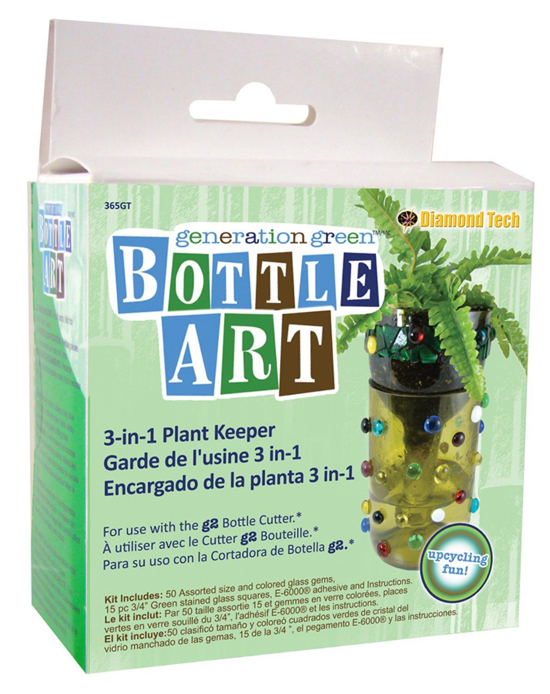 Garden Treasure Bottle Art Kit