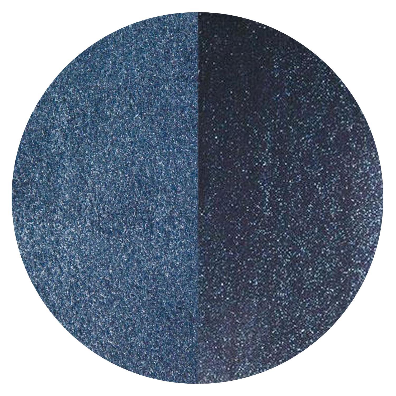 5 oz Aventurine Blue Transparent Powder Frit - 90 COE