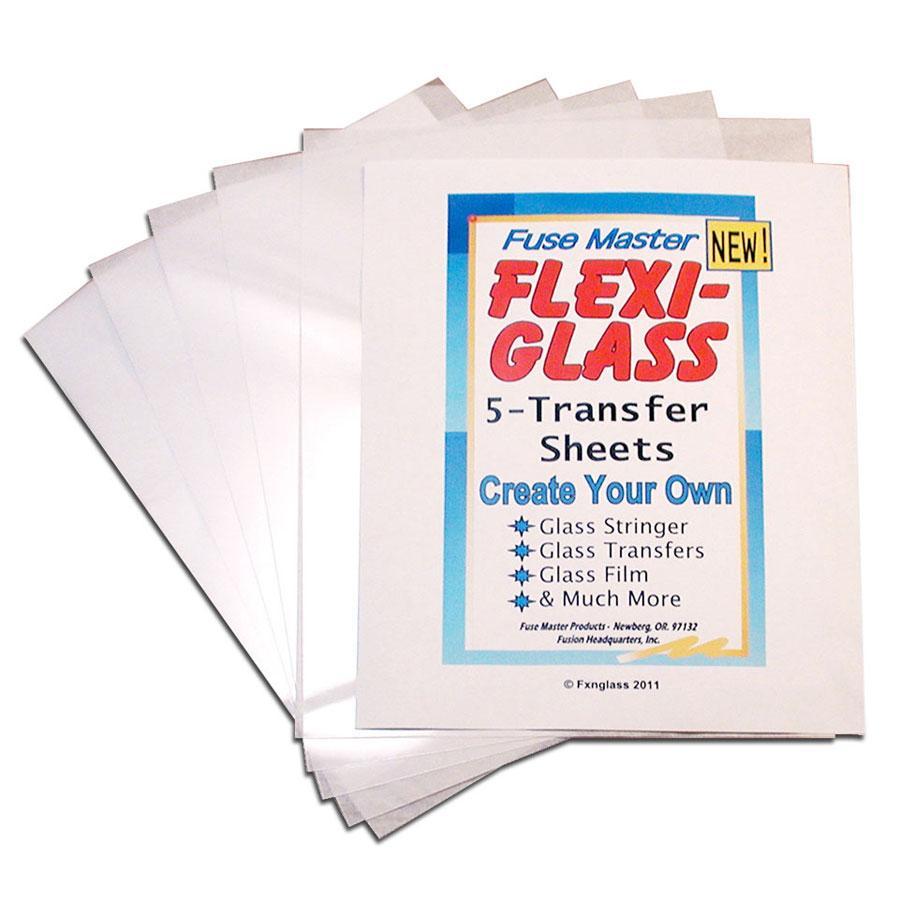 Flexi-Glass Transfer Sheets - 5 Pack