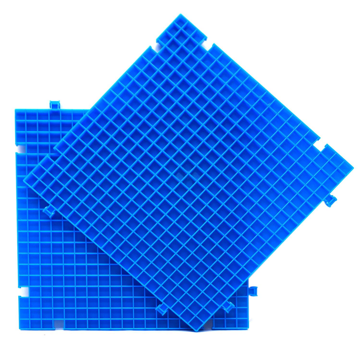 Blue Waffle Grid Work Surface - 2 Pack