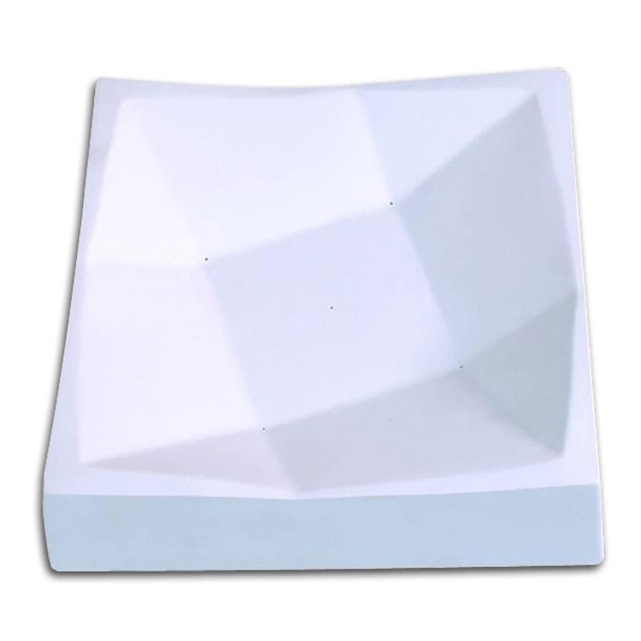 8 Folded Square Slump Mold