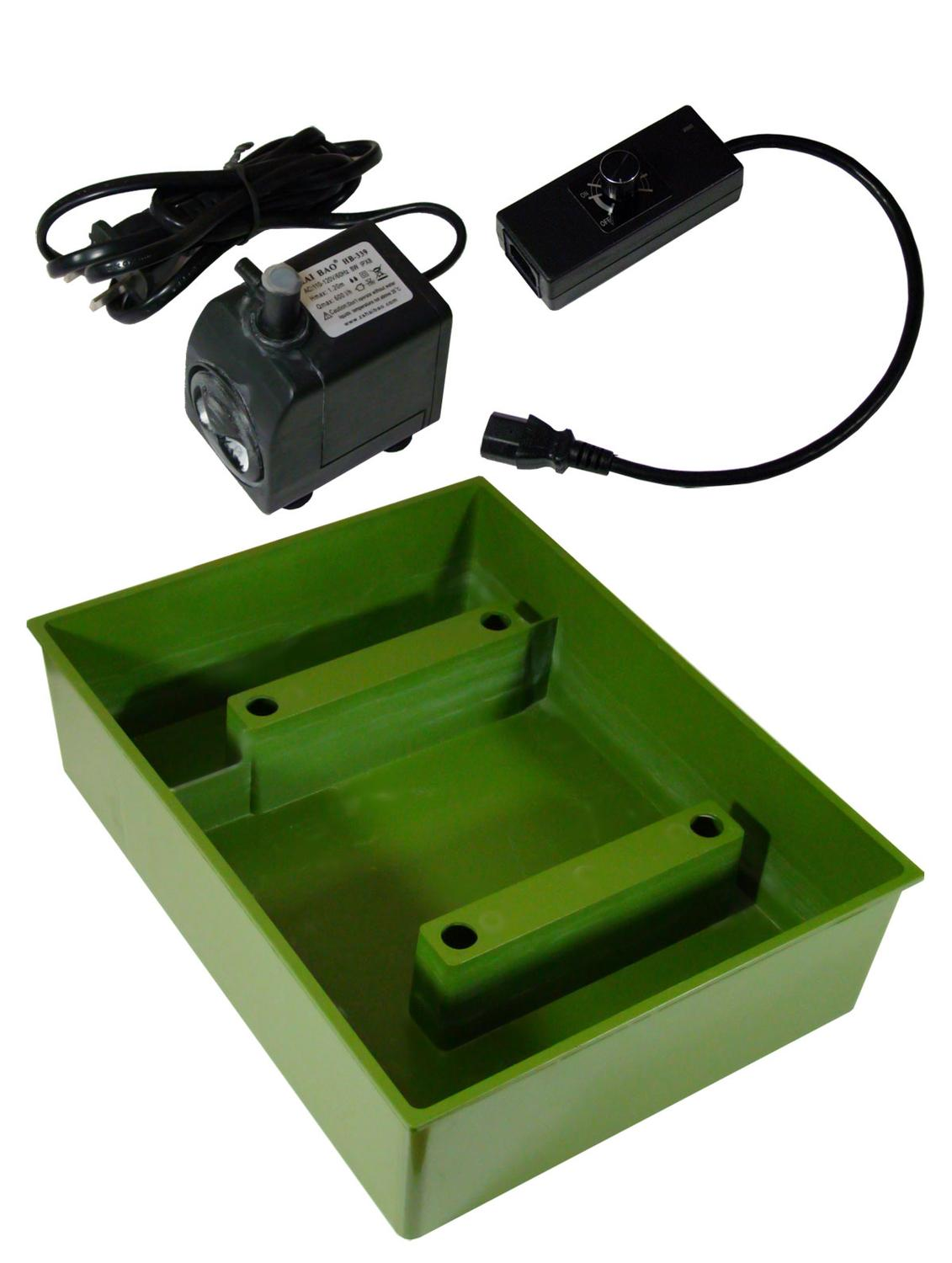 Precision 2000 Variable Control, Water Tray & Pump Kit