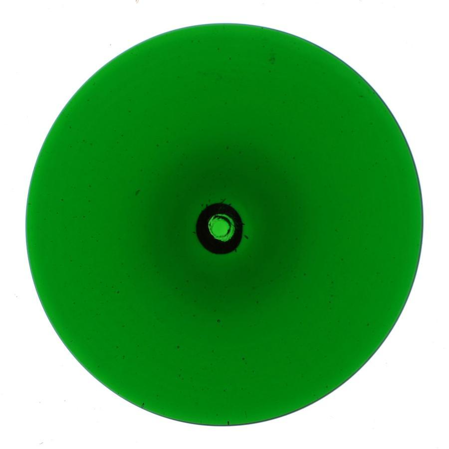 3 Green Spun Rondel