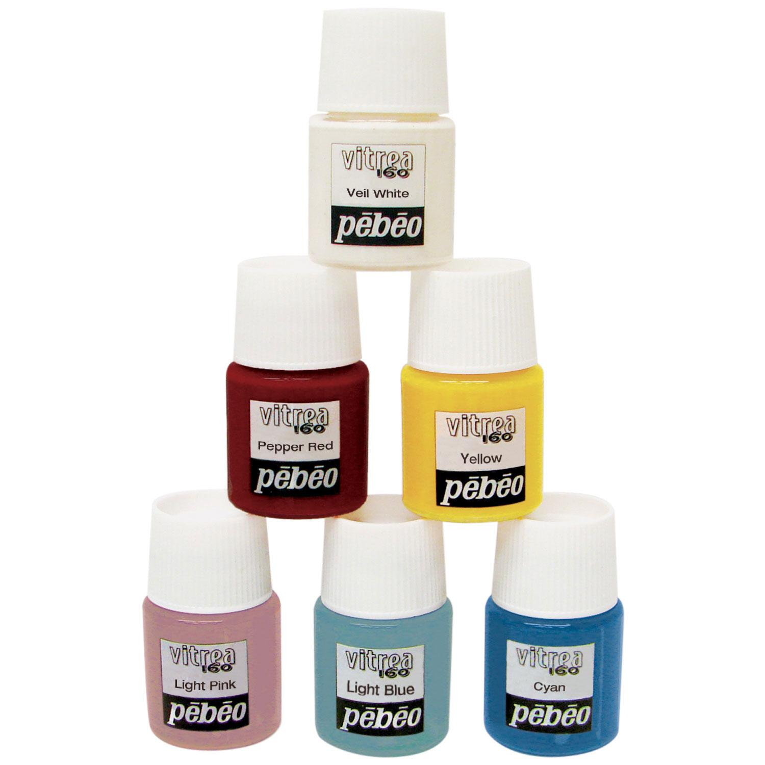 Classic Glossy Paint Set - 6 Colors