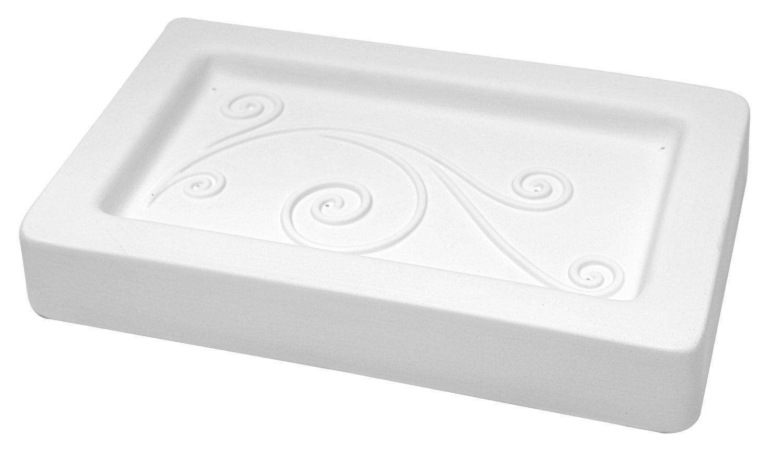 10-1/4 X 6-1/2 Spiral Buffet Plate Mold