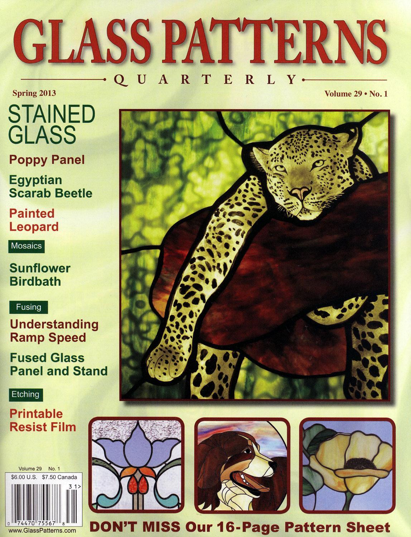 Glass Patterns Quarterly Magazine Spring 2013