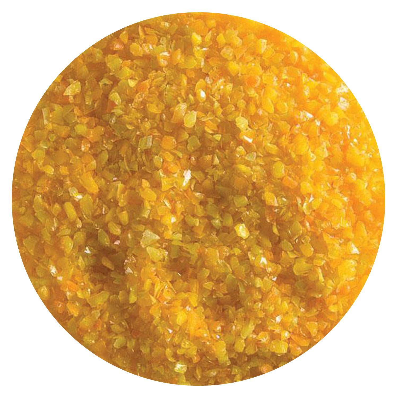 5 Oz Tangerine Orange Opal Striker Medium Frit - 90 COE