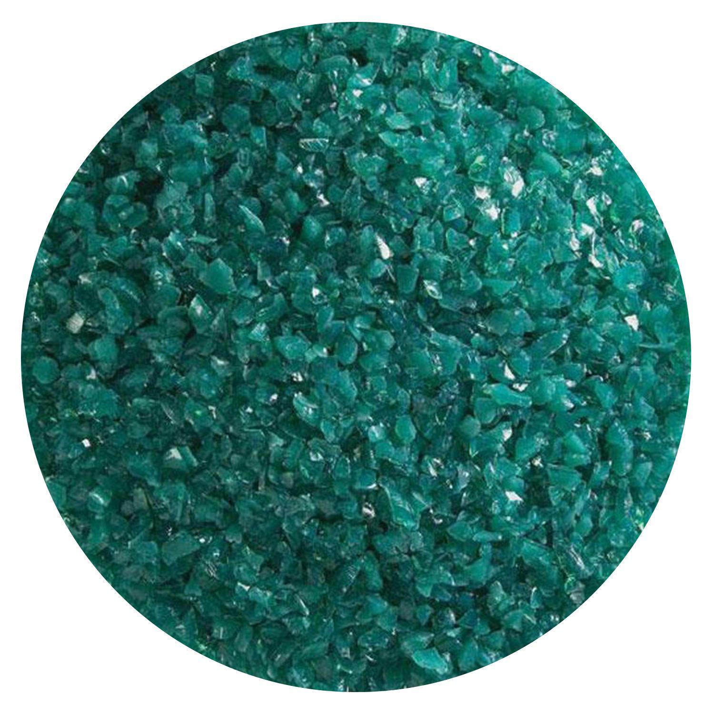 5 oz Teal Green Opal Medium Frit - 90 COE