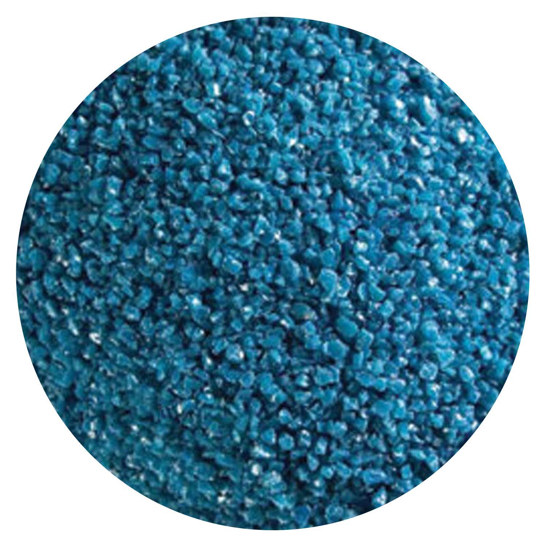 5 Oz Steel Blue Opal Medium Frit - 90 COE