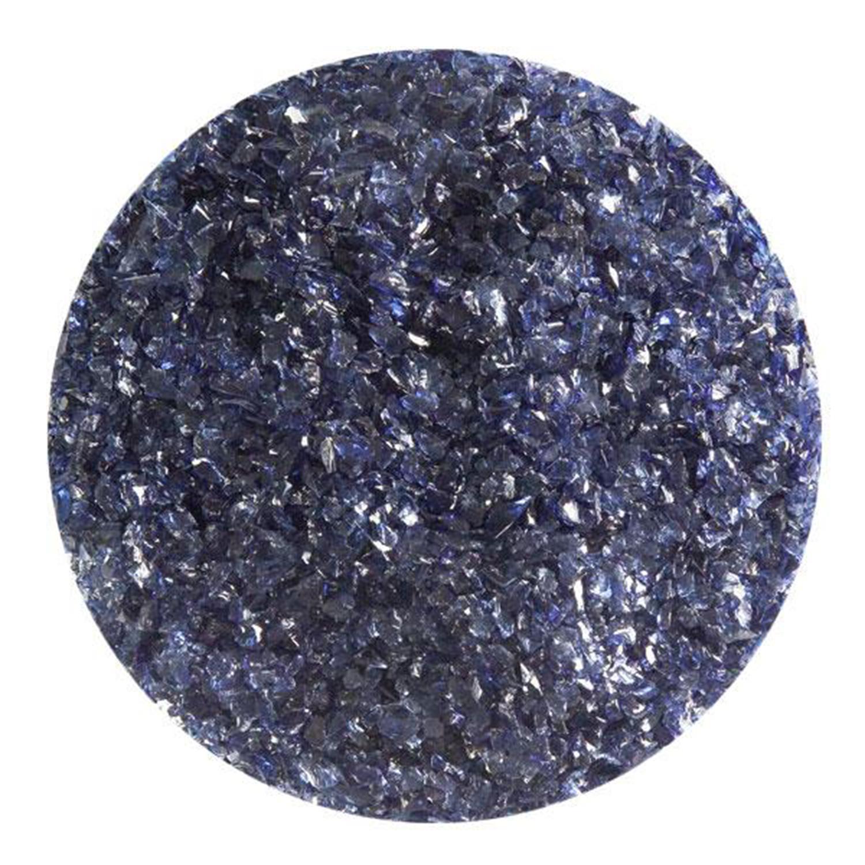 5 oz Midnight Blue Transparent Medium Frit - 90 COE