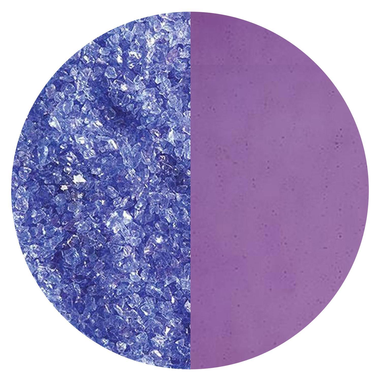 5 oz Violet Striker Transparent Medium Frit - 90 COE