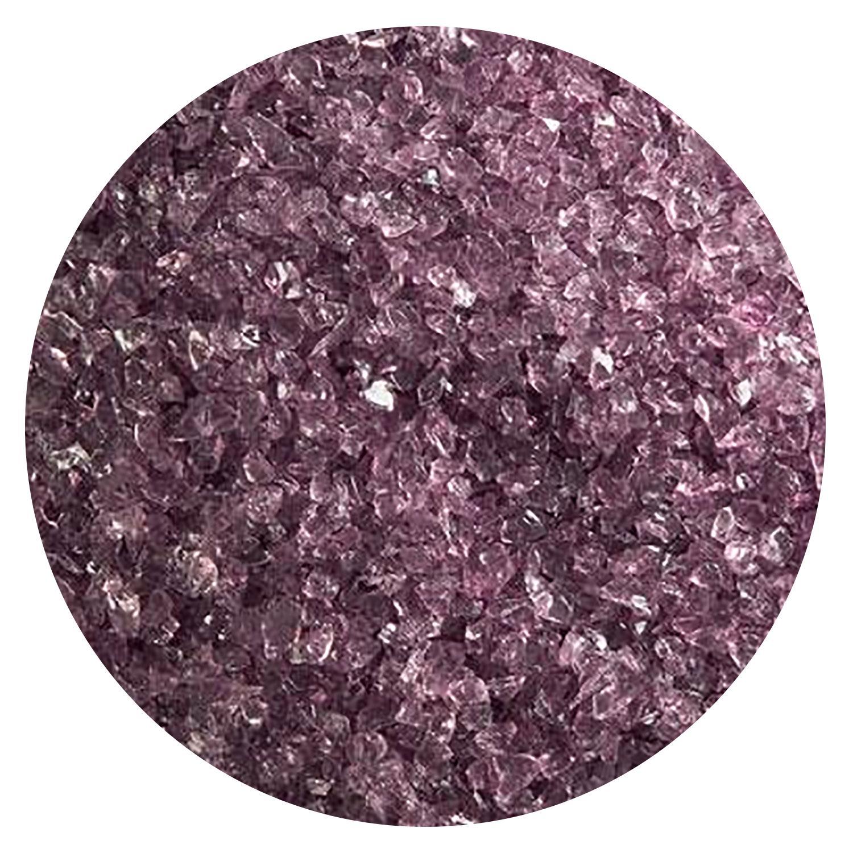 5 Oz Light Violet Transparent Medium Frit - 90 COE